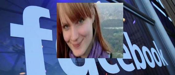 تعرضت فتاة بريطانية لحضر حسابها في الفيسبوك بسسب إسمها