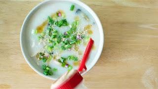 5-minute cantonese porridge