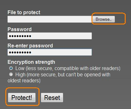 Protect Your Pdf File With Secured Password |  :: Dark Site ::