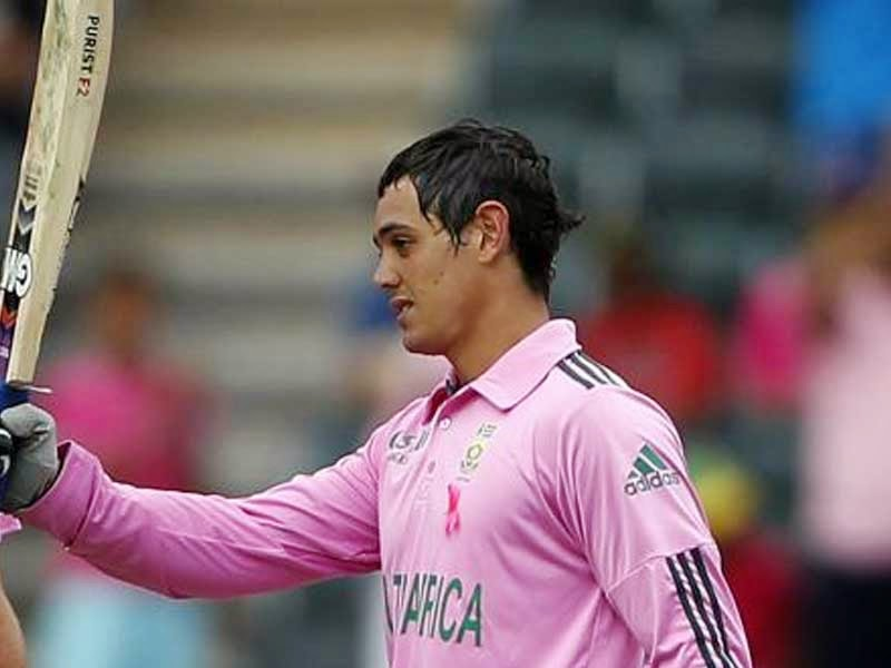 Quinton De Kock New 2014 Hd Pics and Biography | Sports ... Quinton De Kock 2013