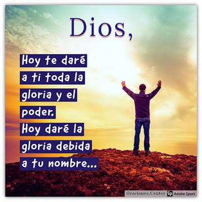 Oración de Domingo - Para Elevar tu Alabanza a Dios Todopoderoso