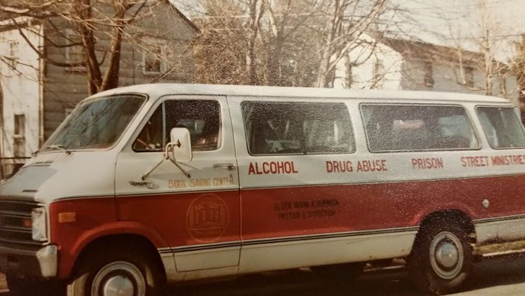 The Soul Saving Center Ministry Van 1970's