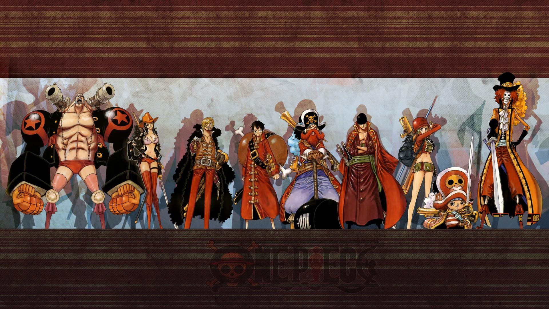Straw hat pirates new world desktop wallpaper