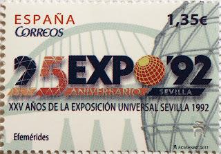 XXV AÑOS DE LA EXPOSICIÓN UNIVERSAL SEVILLA 1992