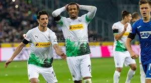هوفنهايم يفرض التعادل القاتل على فريق بوروسيا مونشنغلادباخ في الدوري الالماني