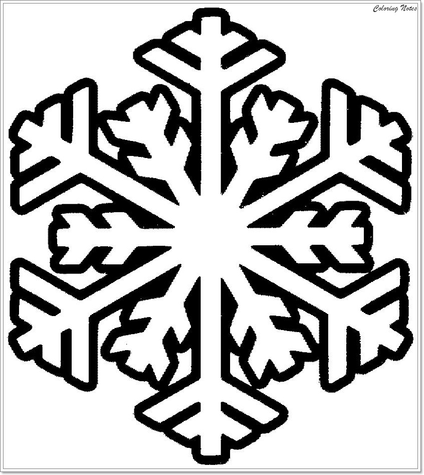 Top 25 Winter Snowflake Coloring Pages Easy, Free and