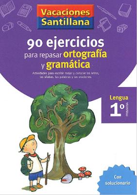90 ejercicios para repasar la ortografía y gramática - 1° primaria