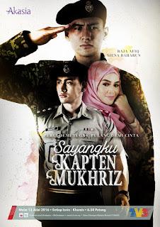 Sayangku Kapten Mukhriz, raja afiqq, anugerah terindah