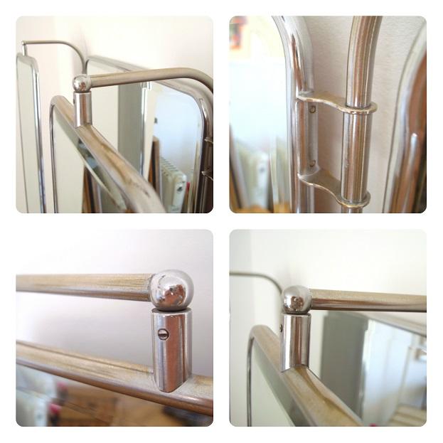 Comprar espejos abatibles online. de tres hojas, vintage, metálicos. decorar tocador o recibidor