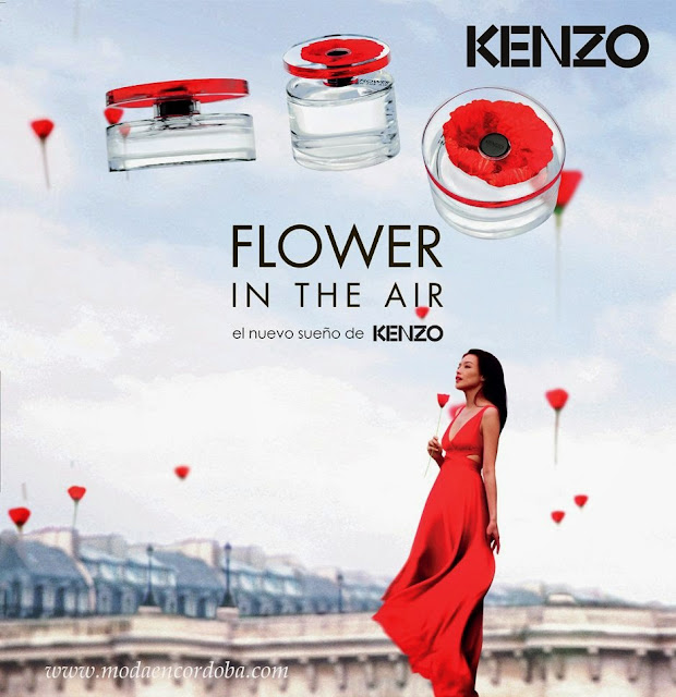 Moda en Cordoba.Flower in the Air by Kenzo