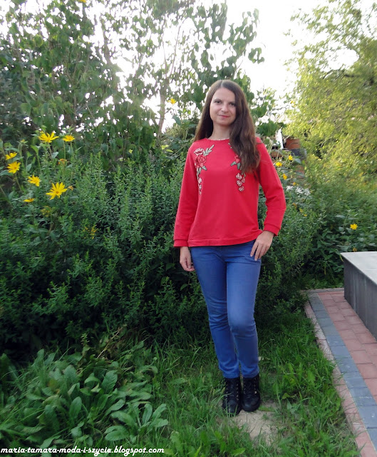 bluza damska dresowa