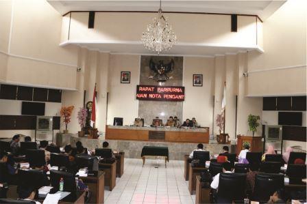 Rapat Paripurna Kab. Subang