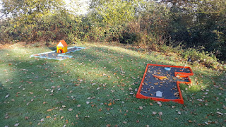 Crazy Golf at Ancaster Karting in Grantham