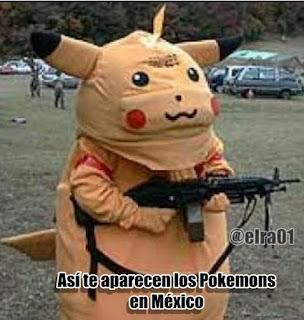 pikachu real en en mexico pokemon go armado delincuencia