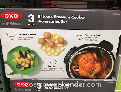 Make pressure cooking that much easier with the Oxo Softworks Silicone Pressure Cooker Accessories Set