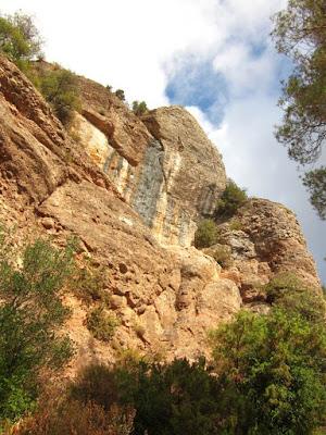 Cam dels Monjos a La Mola desde Matadepera