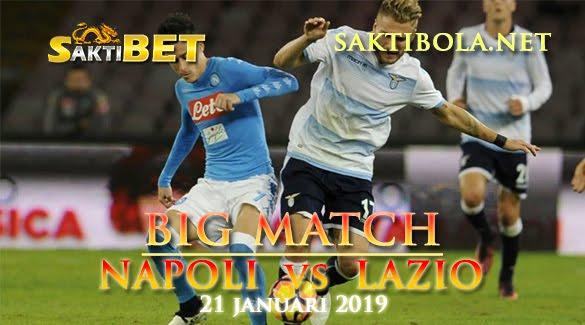 Prediksi Sakti Taruhan bola Napoli vs Lazio 21 JANUARI 2019