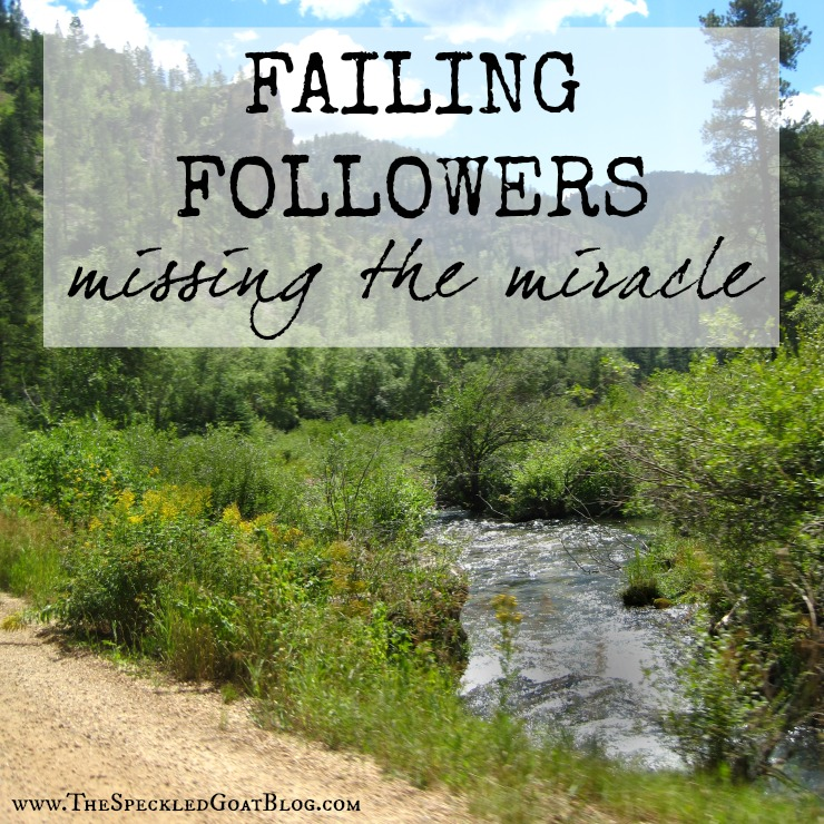 focusing on the wrong things leads us to miss the miracle mark gospel devotion