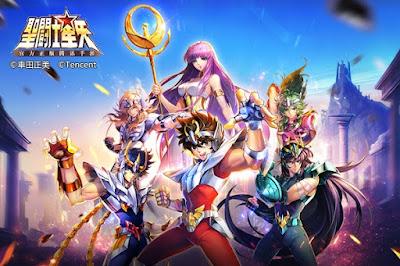 Saint Seiya Tencent - RPG Cinese della Tianmei L1 Studio