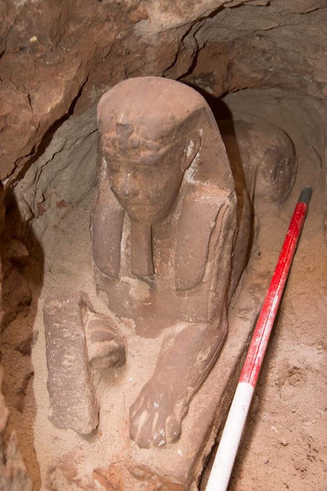 Βρέθηκε άγαλμα Σφίγγας της εποχής των Πτολεμαίων.