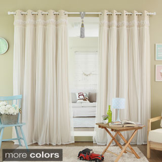 French Country Curtain Panels Rods Curtains And Drapes Window Treatments