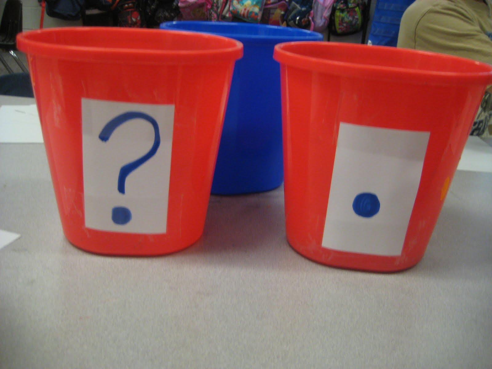 Kinder garden period or question mark for Kinder gardine