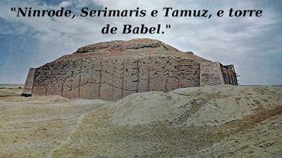 A torre de Babel e a primeira divindade.