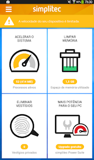 Otimize o android usando Simpletec