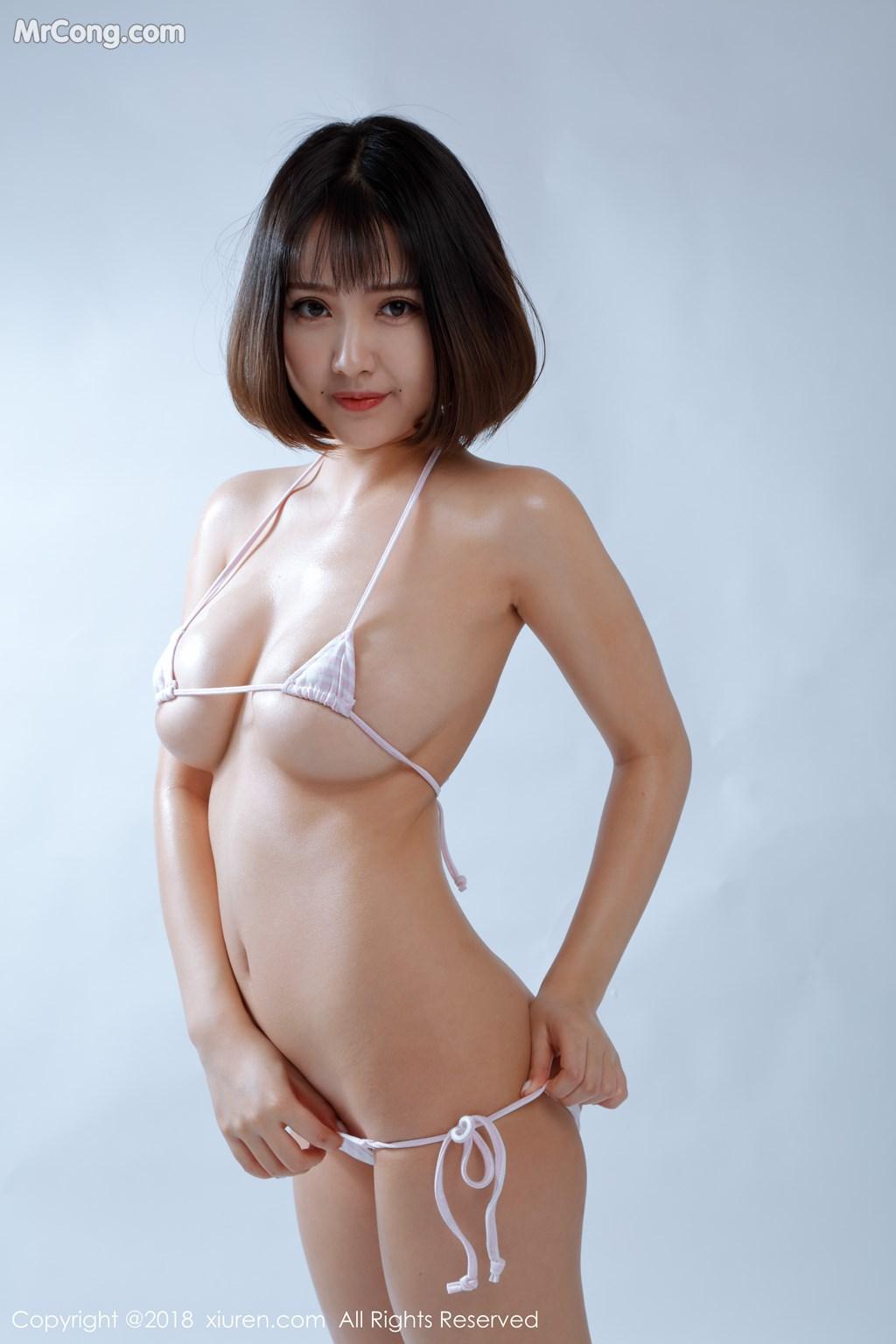 Image XIUREN-No.1129-Xiao-Mo-Nu-Nai-Nai-MrCong.com-002 in post XIUREN No.1129: Người mẫu 小魔女奈奈 (41 ảnh)