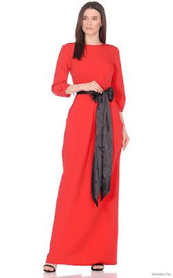 Vestidos de noche cortos rojos