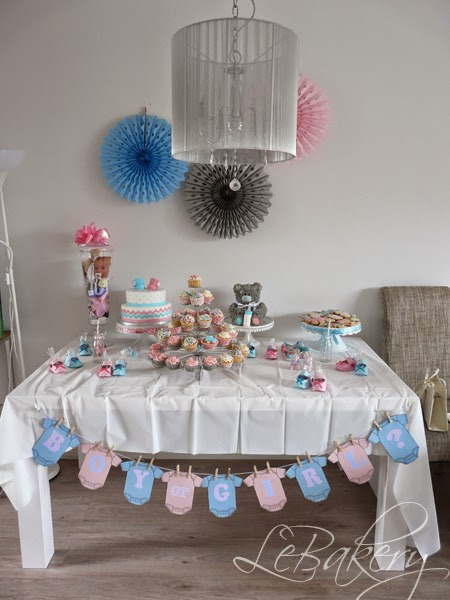 Fabulous Gender Reveal Party | LeBakery &MB49