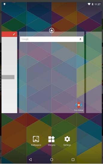 Aplikasi Launcher Android Terunik Nova Launcher APK