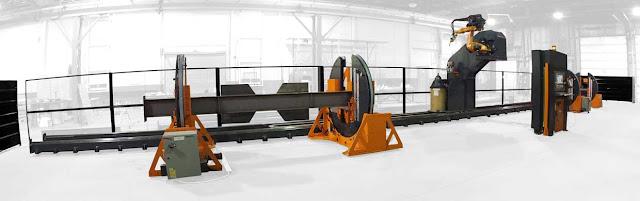 Роботизированный сварочный комплекс BeamMaster Weld 48R2