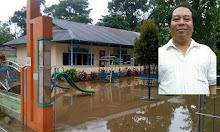 TK Santa Gema Sekadau Banjir, Belajar-Mengajar Tergangu, Fasilitas Jadi Rusak