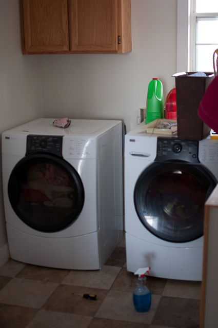 Start at Home: Laundry Room