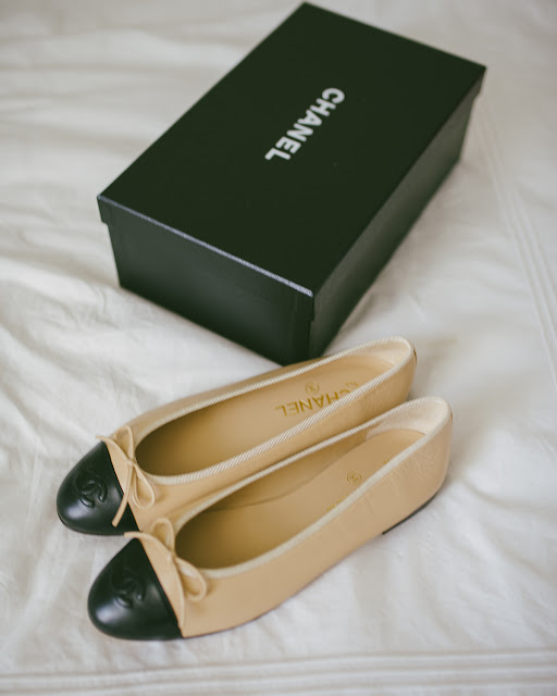 7926ee40cc Almost 4 years ago I ordered my first pair of Chanel ballet flats  (ballerines). Just last month, they got their last wear.