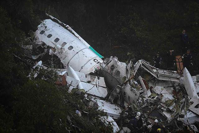Quatro pessoas da lista de passageiros do voo da Chapecoense não embarcaram