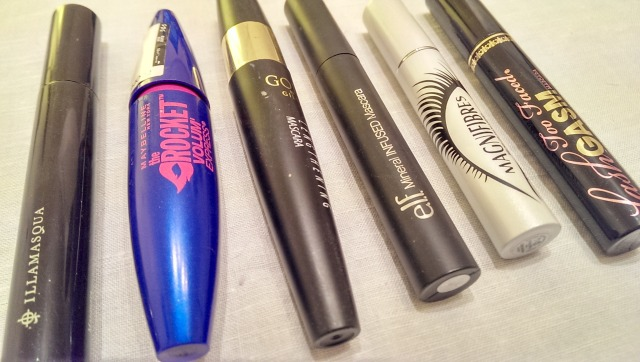 Lots of mascaras
