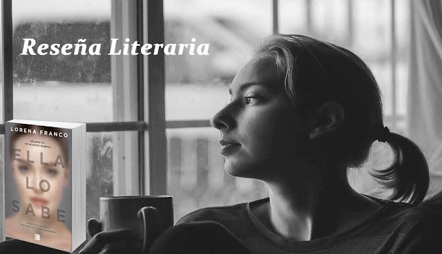 Blog Negro sobre Blanco. Ella lo sabe. Lorena Franco. Composición : María Loreto Navarro