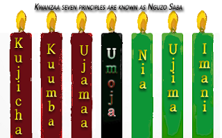 Kwanzaa seven principles are known as the Nguzo Saba