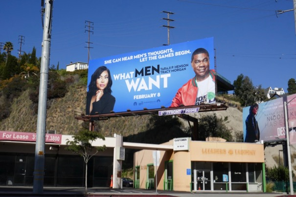 What Men Want billboard