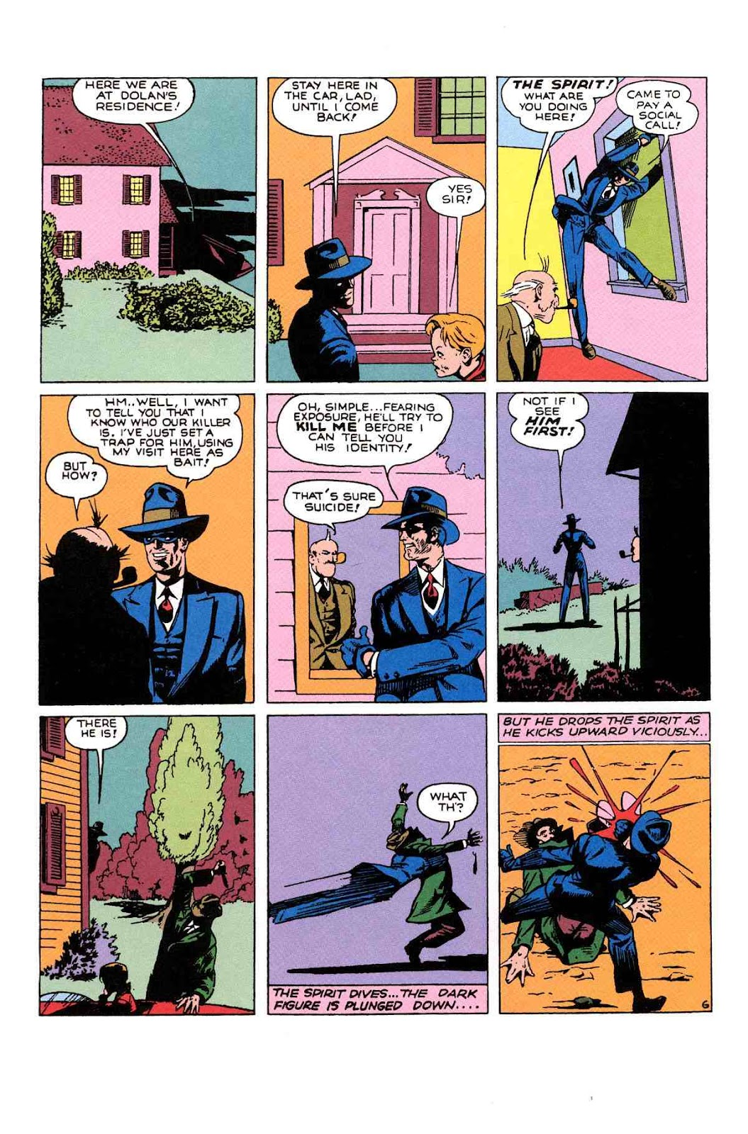 Read online Will Eisner's The Spirit Archives comic -  Issue # TPB 1 (Part 2) - 33