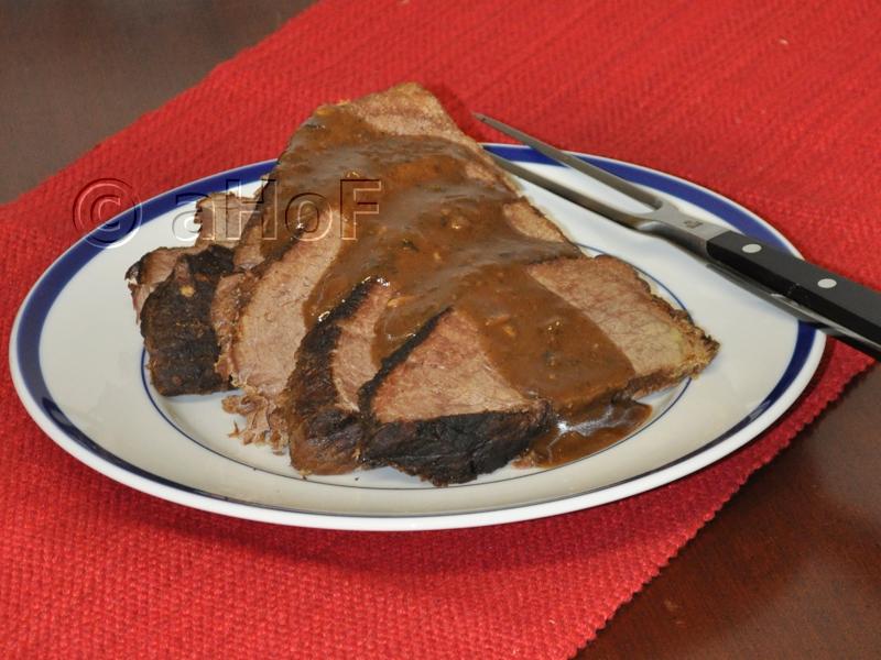CMR Spiced Rump Roast with Gravy