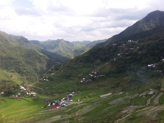 View while trekking Batad Rice Terraces
