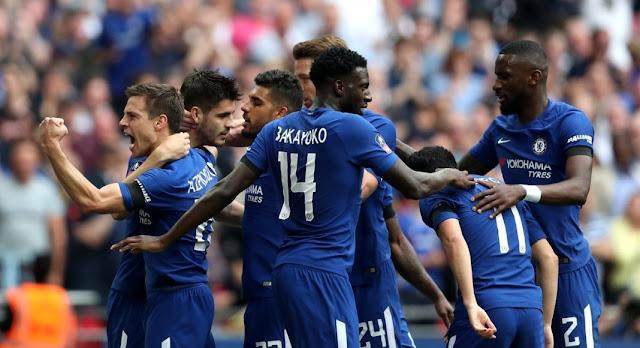 Video Cuplikan Gol Chelsea 2-0 Southampton   Semifinal FA Cup