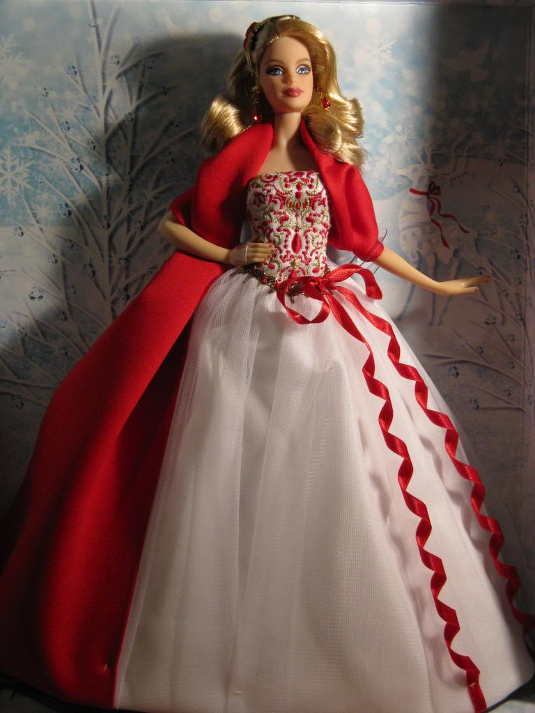 The Barbie Blog Day 23 Captivating Red And White 2010