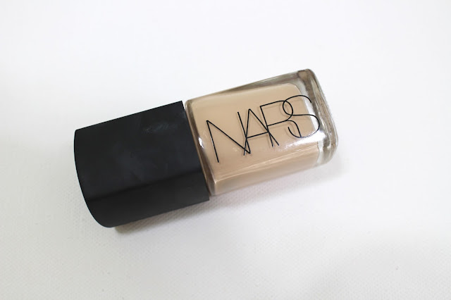 Nars Sheer Glow and Swatches