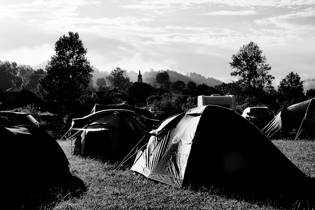 Niedzica. Camping Polana Sosny. fot. Łukasz Cyrus