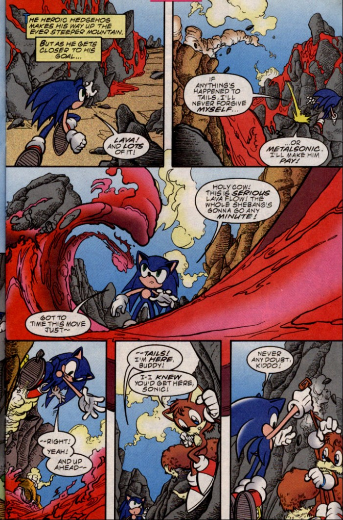 Read online Sonic The Hedgehog comic -  Issue #87 - 10