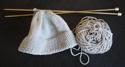 Easy Knit Hat Pattern Straight Needles